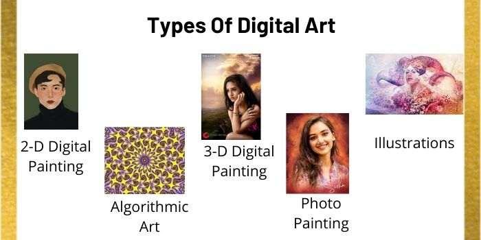 Different Kinds of Digital Art